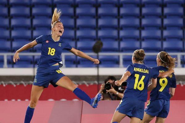 Sweden won Australia 1-0 for the Olympic women's football championship